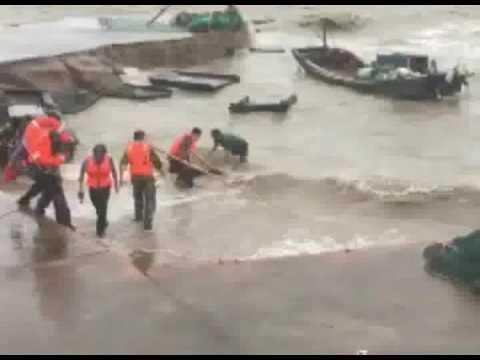 Typhoon Meranti Slams Into East China