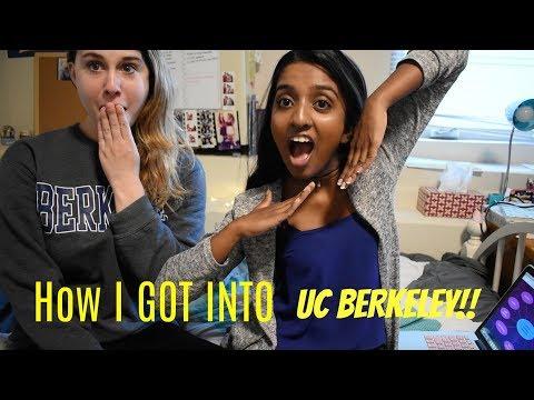 HOW I GOT INTO UC BERKELEY | GO BEARS!