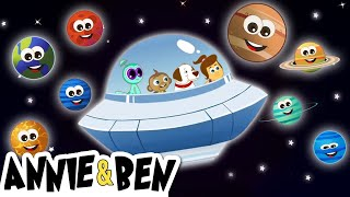 Watch The Great Solar System | Planet Song and More Nursery Rhymes by The Adventures of Annie and Ben on KidsLaugh