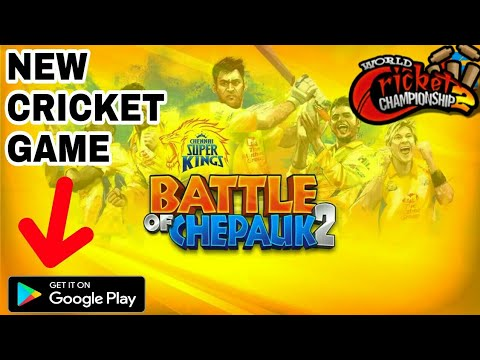 NEW CRICKET GAME BATTLE OF CHEPAUK 2 , COMPANY OF WCC2 NEW GAME RELEASED ,