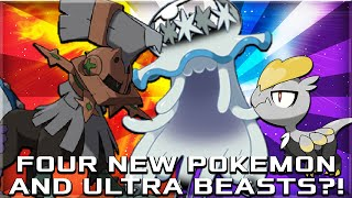 FOUR NEW POKEMON AND ULTRA BEASTS - LILLIE NOO! | Pokemon Sun and Moon News!