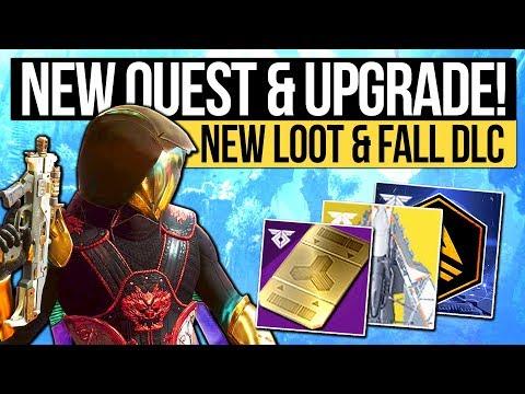Destiny 2 News | NEW REWARDS & QUEST UNLOCK! Fall DLC, Secret Mission Item, New Weapons & Upgrades!