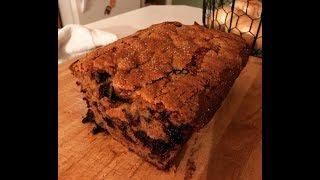 Blueberry Banana Bread~The Kneady Homesteader