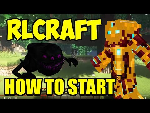 RLCraft Quick Start Guide By Udisen | RLCraft How To Play