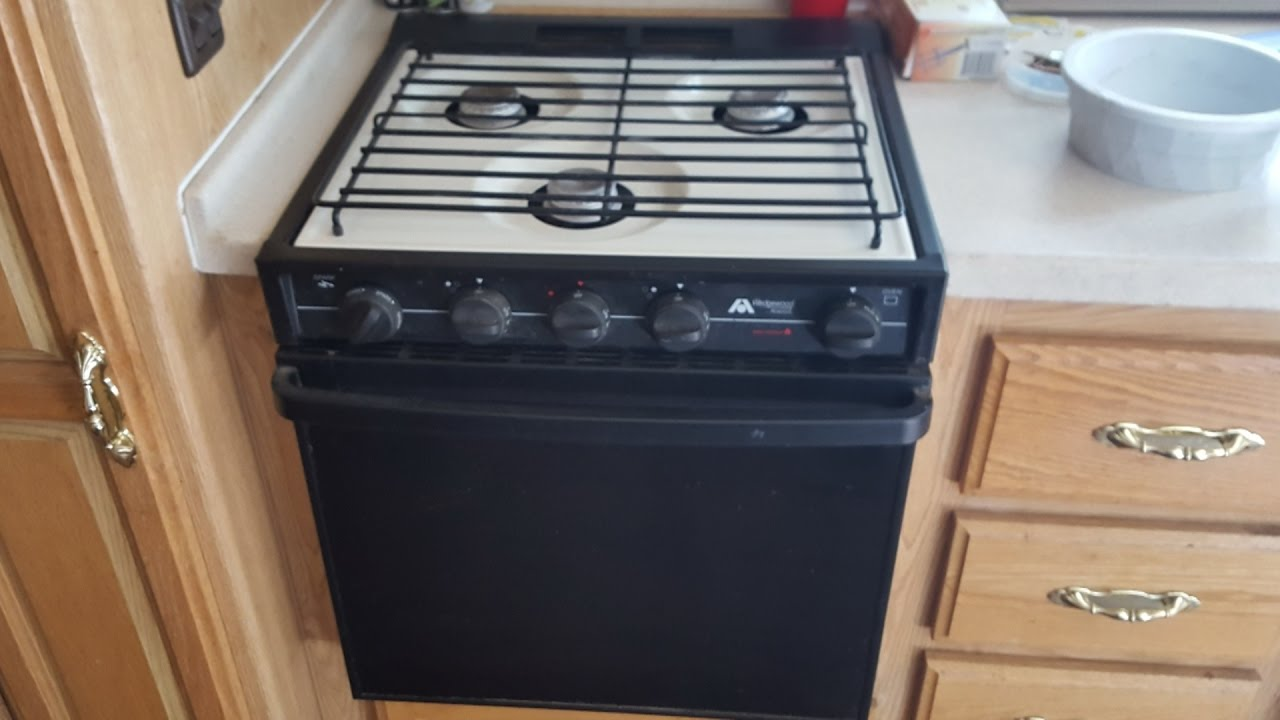 Rv Stove Oven >> Atwood Rv Stove