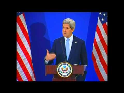 Secretary Kerry Delivers Remarks to the Press in Turkey