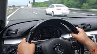 VW PASSAT HIZ DENEMESİ ( top speed)