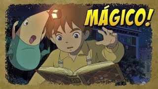 Ni no Kuni: Wrath of the White Witch - Jogando a Demo.