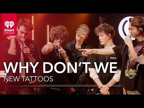 Where Did Why Don't We Get Their Newest Tattoos? | iHeartRadio Live! mp3