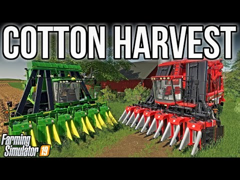 Cotton Harvest Fail & Adding New Farm! | New Woodshire | Farming Simulator 19
