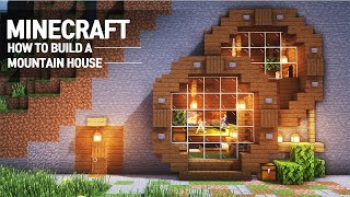 Minecraft : MOUNTAIN HOUSE TUTORIAL|How To Build In Minecraft (#66)