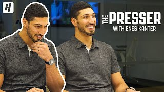 What Enes Kanter Texted Kevin Durant After He Left Golden State! | HoH Presser