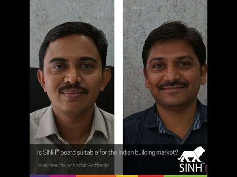 Is SINH™ board suitable for the Indian building market? An Interview with Indian Architects