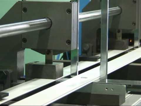 Wood Blind Machine _ (Fully automatic Punching & Threading Tool)