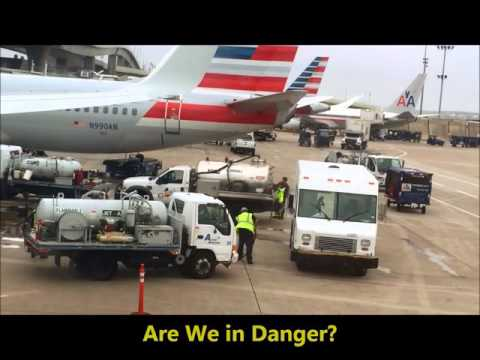 Dallas Airport Giant Jet Fuel Spill & Hazmat Cleanup