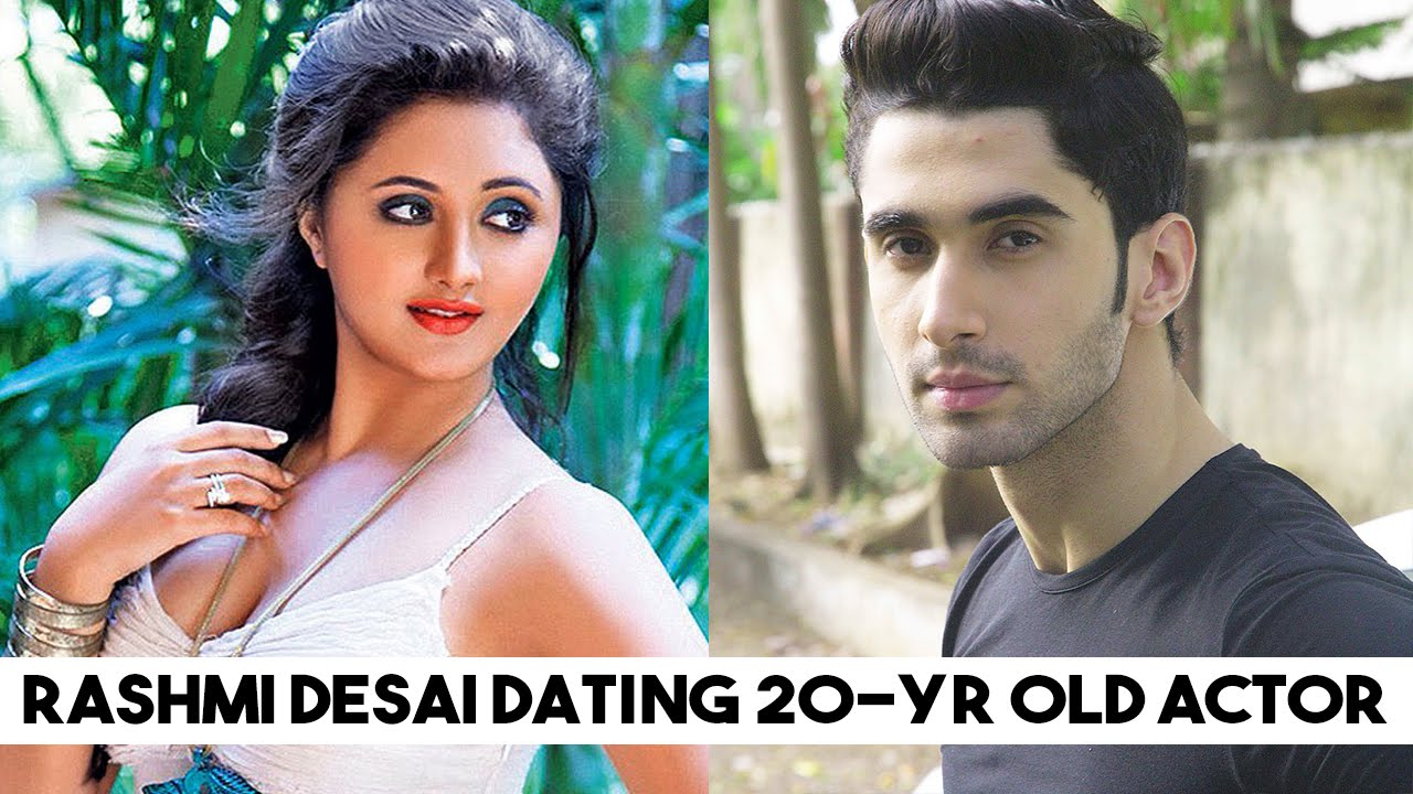 Rashmi Desai DATING 20-Yr Old Actor Laksh Lalwani?