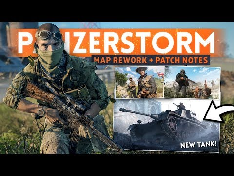 PANZERSTORM MAP REWORK + Loads Of Bug Fixes! - Battlefield 5 (2nd January Update Patch Notes) thumbnail