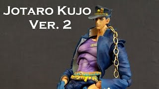 super action statue kujo jotaro ver 2 figure review jojo s bizarre adventure
