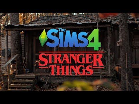 Hopper's Cabin in Stranger Things 2 | The Sims 4 (Speed ...