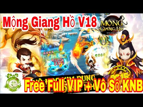 Game Private Mộng Giang Hồ New | Android & IOS | Free Full VIP18 – 66.666KNB + Thần Tướng Đỏ