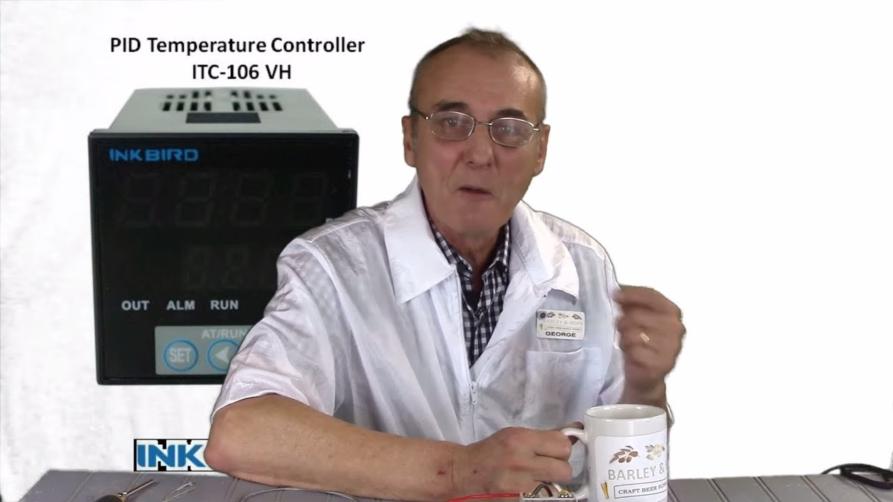 Wiring The Inkbird Itc106 Vh Pid Controller Youtube 120v Diagram