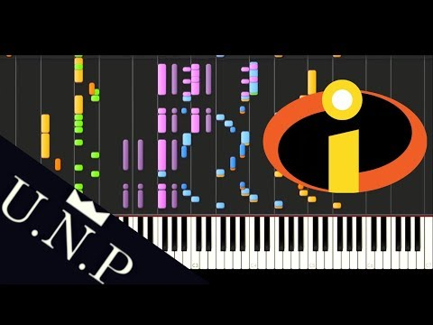 THE INCREDIBLES THEME ORCHESTRA BY U.N.P.