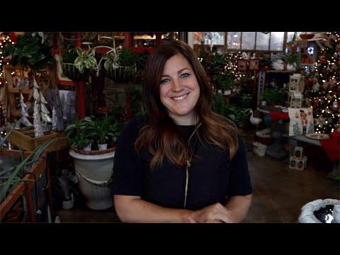 Helping Decorate The Garden Center For Christmas Garden Answer Youtube