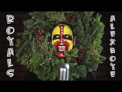 """Lorde - """"Royals"""" (African Tribal Masquerade Cover) Alex Boye'"""