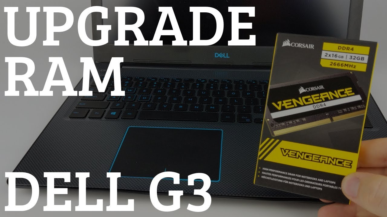 How to Upgrade Dell G3 RAM - Add RAM to Dell Laptop - Dell G3 3579