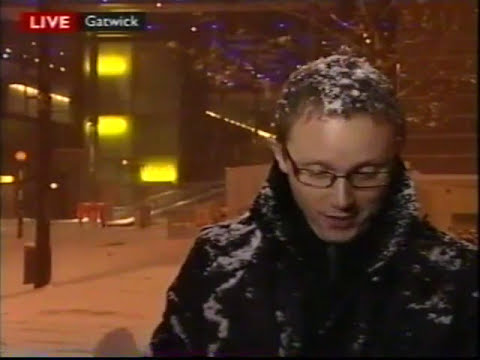 BBC News report of 30th November 2010 on the snow