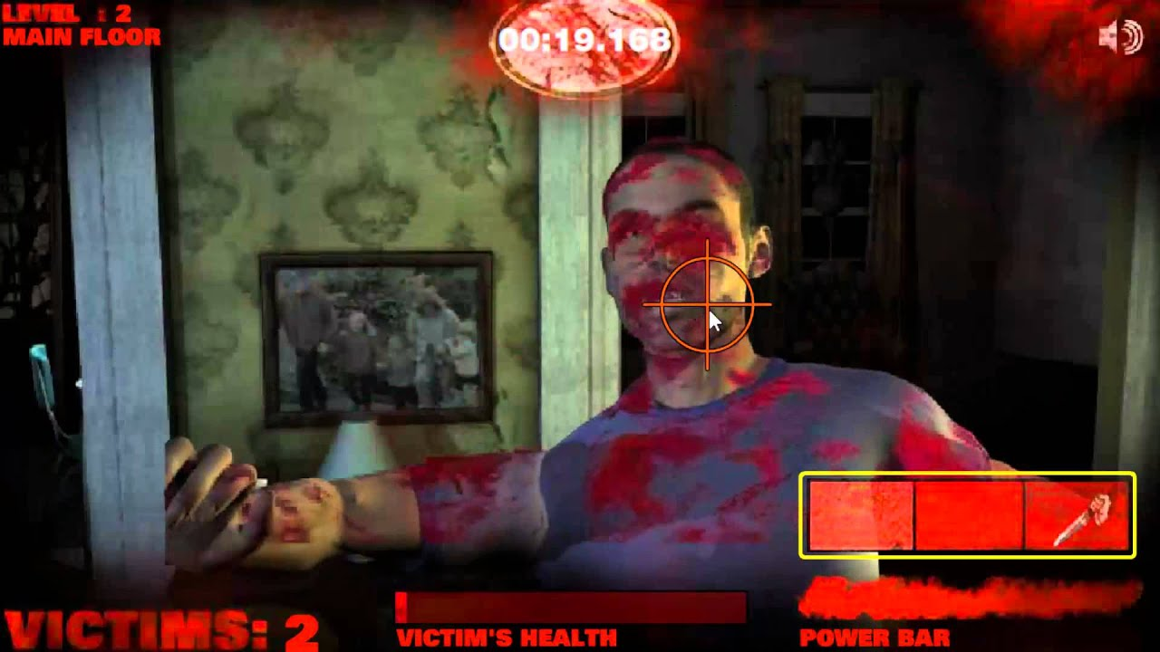 flash gaming michael myers rampage youtube - Halloween Video Game Michael Myers