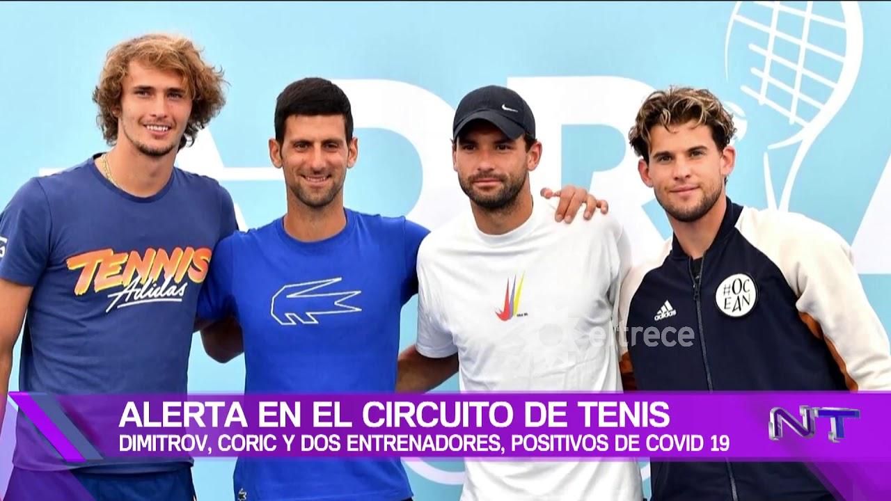 Coronavirus positivo en el tenis, después de que no respetaron el protocolo en un partido solidario