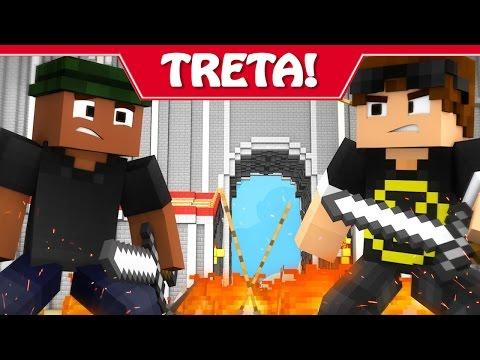 Minecraft: MURDER - ADRIANO TRETA COM O MÃO