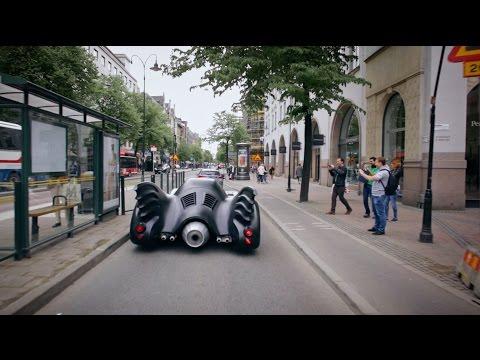 Warner Bros. Nordic & Uber presents: The Batmobile