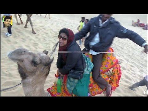 Camel Safari - Jaisalmer Tourism - Rajasthan - India