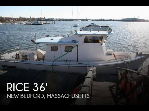 [UNAVAILABLE] Used 1961 Rice Marine 36 Charter/Tuna in New Bedford, Massachusetts