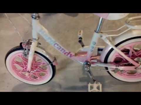 ขายแล้ว จักรยานเด็กสีชมพู คันเล็กแต่แข็งแรง #มือสองตามสภาพ 2handshow#4