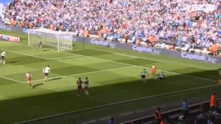QPR v Derby Highlights Play-Off Final at Wembley 1-0 (With commentary and Goals) 2014