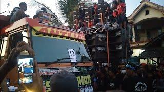 Ketika HRJ lewat depan BJ HUNTER | karnaval mojosari kras kediri
