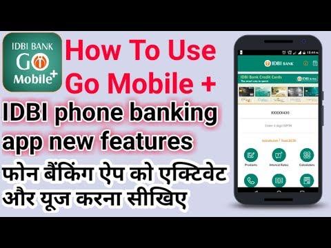 How to use Go Mobile + Mobile Banking App Of IDBI BANK | IDBI Go Mobile Activation | IDBI app