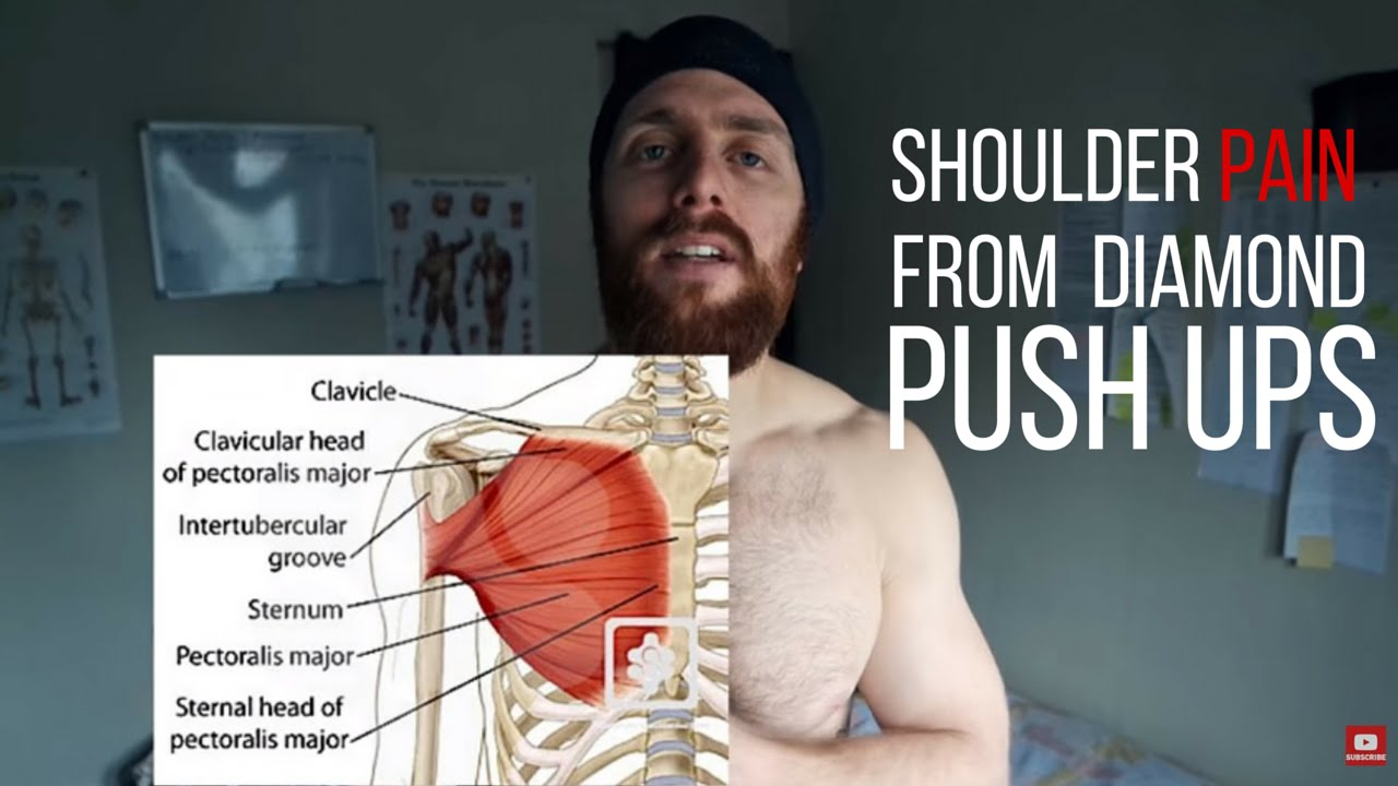 Shoulder Pain from Diamond Push-ups ( Are Push-up ...