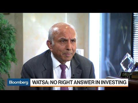 Billionaire Prem Watsa Says There's No Right Answer in Investing