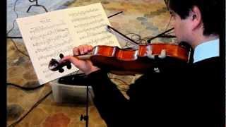 BLOCH, Suite for Violin Solo No. 1, II. Andante tranquillo - Fabrizio von Arx