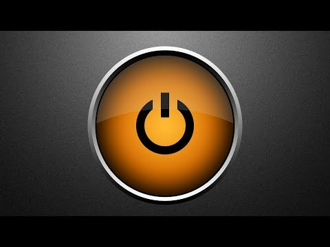 Beautiful Glossy Power Button Photoshop Tutorial