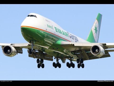 Eva Air Cargo LEMD/UUEE
