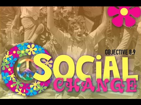 Objective 8.9-  Social Change in the Sixties Mp3