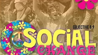 Objective 8.9-  Social Change in the Sixties