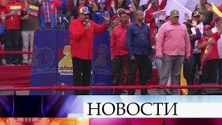 Легитимный президент Венесуэлы поддержал идею новых парламентских выборов.