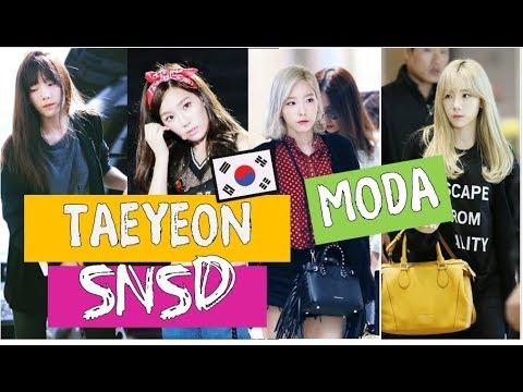Free Download Snsd Taeyeon  태연 Outfits Fashion - Girls Generation Moda 소녀시대 Mp3 dan Mp4