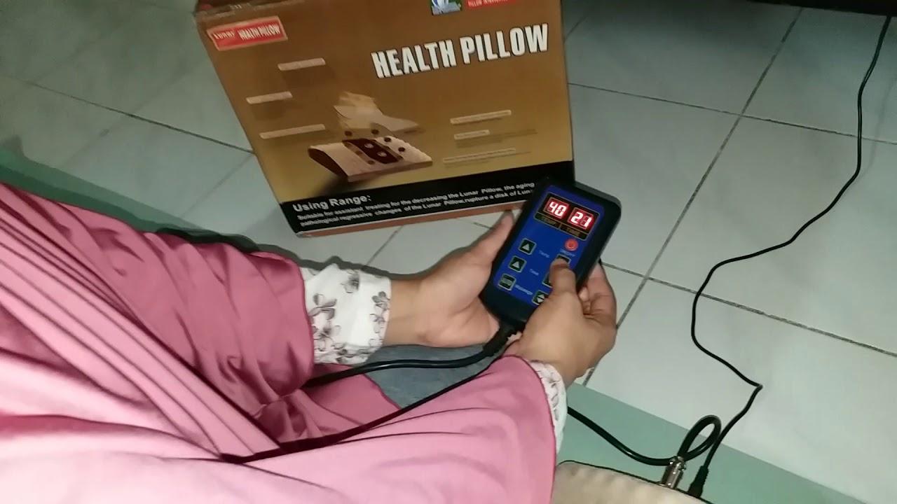 Cara Menggunakan Health Pillow Youtube Lumbar Pilow Bantal Alat Kesehatan Tulang